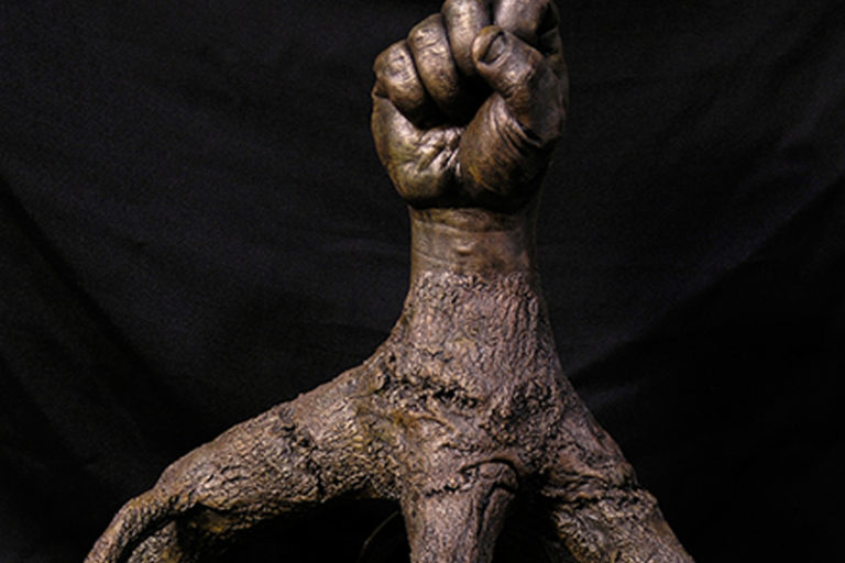 Black Man Grove Fist